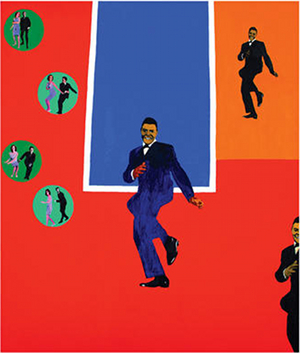 Chubby Checker, by Rosalyn Drexler Court