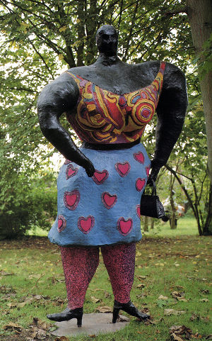Black Rosy, by Niki de Saint Phalle