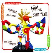 Niki de Saint-Phalle : Colorie les œuvres / Colour in the works. Fontaine Igor-Stravinsky