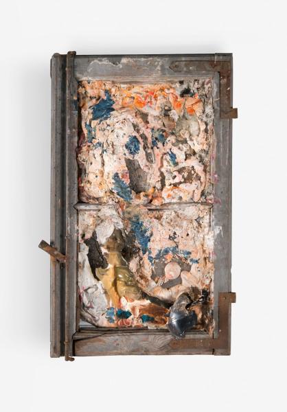 Tir (fragment de tableau Galerie Køpcke), 1961. Photo: Leclerc Maison de Ventes