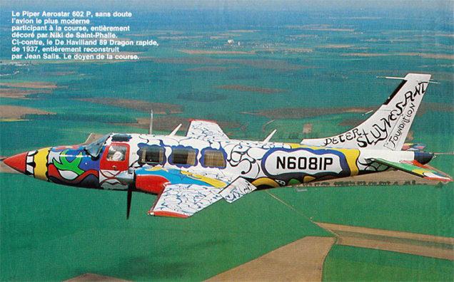 Piper Aerostar - Figaro Mag-v